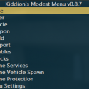 Kiddion's Modest Menu - money hack, unlock items and other funny cheats for GTA 5 Online