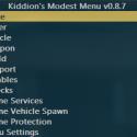 Kiddion's Modest Menu - накрутка денег, разблокировка предметов и прочие веселые читы для GTA 5 Online